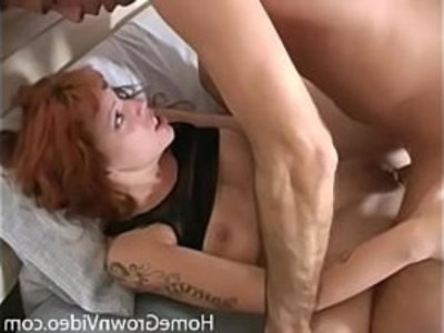 Cock craving redhead wants it deep in her fuck hole | amateur  blowjob  cock  cum on face  cumshots  doggy  facials  hardcore  homemade  redhead