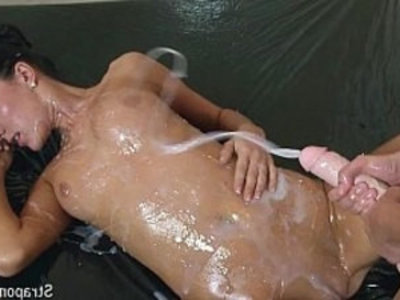 Requested Oiled strapon play | blowjob   european girls   girl on girl   handjob   hardcore   lesbians   oil   sex toys   strap on