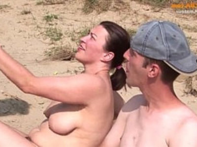 Real party amateur threesome on the beach | 3some   amateur   beach   blowjob   hairy pussy   outdoor   public sex