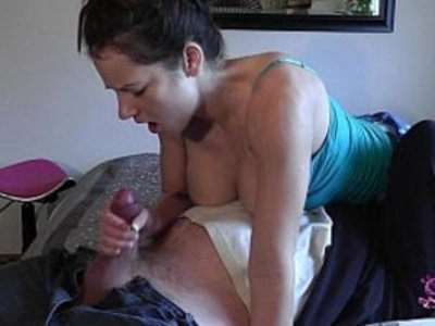 morning jerk | ass  domination  handjob  jerking  pussy  sperm  worship