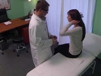 Fake hospital doctor cures headache with cock | cock  doctor