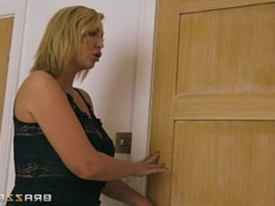 Big boobed milf gets ass pounded | ass  blonde  boobs  doggy  milf  mother  pounding  son and mom  tits