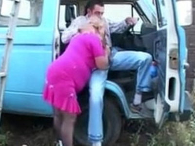 Fat Granny In Pink Fucking Outdoors | fat girls   gilf   outdoor   pussy