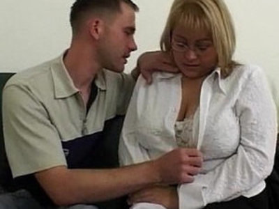 Big Tit BBW Fucked By Repairman In The Couch | bbw   couch   tits