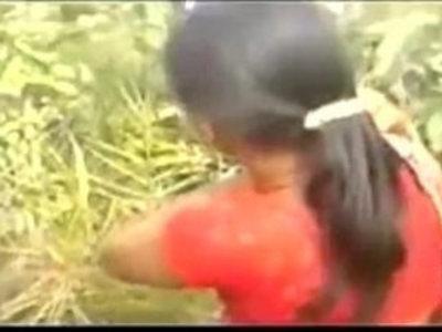 hot telugu school teacher striping her saree in outdoor fucking myself with neighbour uncle | old man  outdoor  school girls  teacher