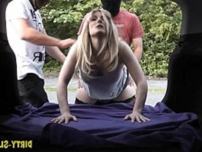 Slutwife Nikki gang fucked by many strangers | cumshots  facials  gangbang  orgy party  outdoor  party  stranger  swingers  wife