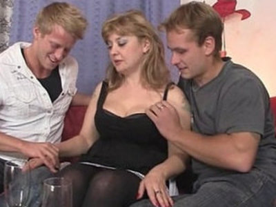 She swallows cocks at once | cock  swallow