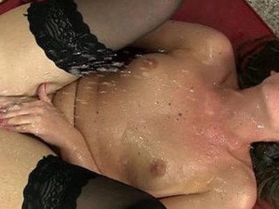 Gorgeous self from stocking brunette   brunette  gorgeous  pissing  stockings