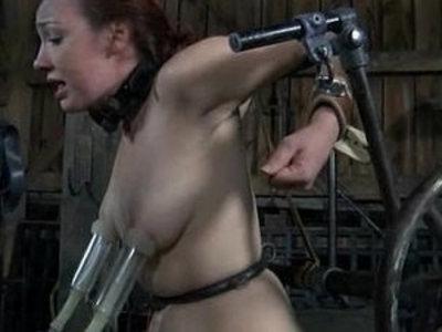 BDSM ass Slave Mia Electro and Torments | ass  bdsm  slave