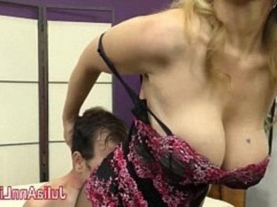 Milf Julia Ann Teases with her Feet! | femdom  fetish  footjob  huge boobs  milf  teasing