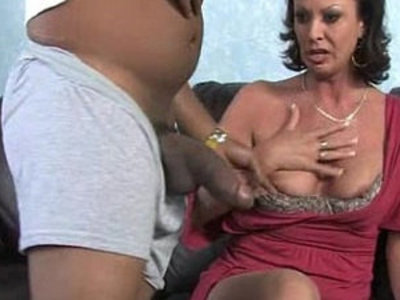 Sexy mom gets facial after getting pounded by a black dude | black   creampies   dude   facials   pounding   sexy girls   son and mom