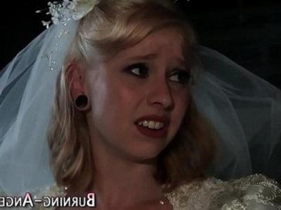 Tattooed bride anal fucks | anal  emo girls  facials  fetish  interracial  tattoo