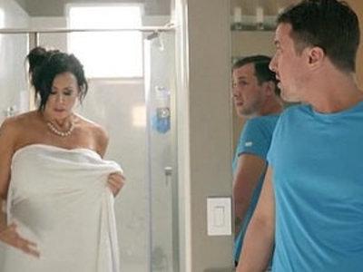 Huge boobies stepmom considering a breast reduction   breasts  stepmom