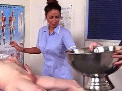 Cfnm nurses suck patient   cfnm  cock sucking  nurse