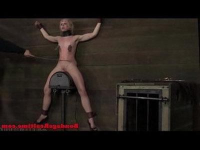 Bdsm sub sarah jane ceylon on sybian | bdsm  sex machine