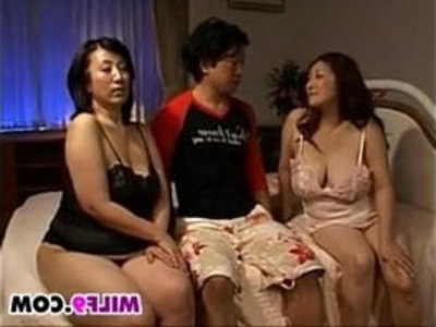 Two Horny Japanese Mothers In A Threesome | 3some   asian girls   fat girls   horny girls   japanese girls   milf   mother   son and mom