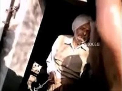 Punjabi Bathinda sex scandal Uncle caught. | caught  desi girls  indian girls  mature  old man