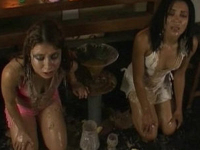 Two Girls Forced Vomit and Puke Puking Vomiting Gagging | forced sex  gagging  girls  sexy girls