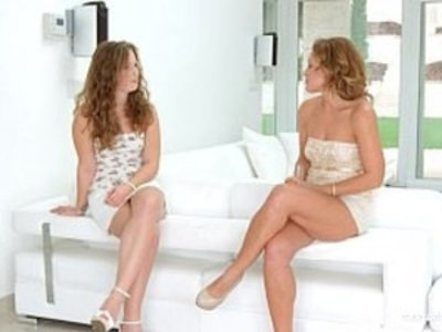 Pre party surprise by Sapphic Erotica sensual lesbian love porn with Sylvia   exotic sex  fingering  lesbians  party  pussy licking