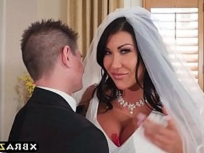 Huge tits bride cheats on her wedding day with best man | asian girls   cheating wife   milf   pornstars   tits   wife