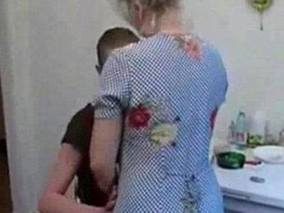 Grandma fucks her grandson in the kitchen | gilf  grandma  kitchen