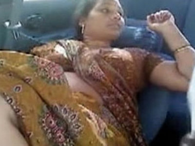 Tamil Aunty Other Men In Car | aunty   desi girls   fake taxi