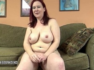 Mature redhead Lia Shade is blowing a dude she just met | amateur  bbw  blowjob  busty  chubby girls  curvy girls  dude  housewife  mature  milf
