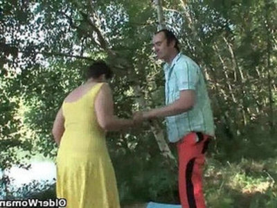 Moms deepest fantasy is having sex outdoors   milf  outdoor  son and mom