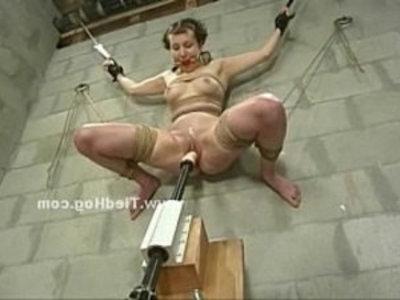 Scared babe in bdsm sex punishment | baby  bdsm  bizarre  bondage  extreme  fetish  punishment  rough sex  slave