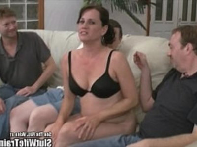 Nasty Slut cheating Wife Fuck Party For Hubby   3some  gangbang  hubby  milf  nasty girls  natural tits  orgy party  party  sluts  sperm