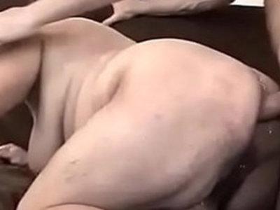 FAT GRANNY ANAL AMBUSH OST AVP | anal  fat girls  gilf