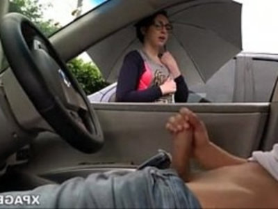 Dick flash and girl watches me jack off in my car Pornspot | bitch   dick   fake taxi   girls   jerking   outdoor   public sex