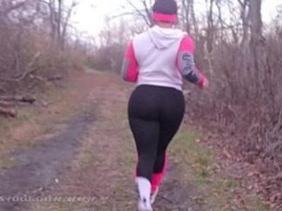 Cali kush big booty gets bang outdoors while running | banged  big booty  black  black cock  blowjob  cumshots  ebony  outdoor