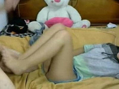 18yo Teen Footjob and Sex, Free Porn | footjob  old and young  teens