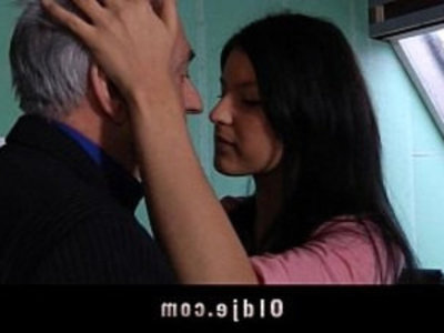 Old teacher sex classes with student | blowjob  college  old and young  old man  teacher