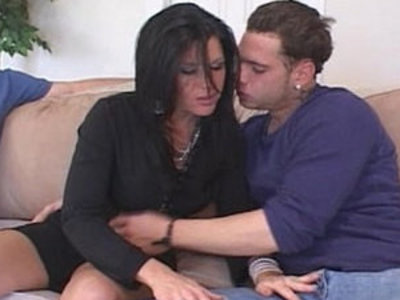 Mature Housewife Seduces Younger Man To Turn On Hubby | housewife  hubby  mature  seduction  young
