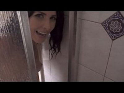 Mom Showers With Son | cheating wife  family taboo  milf  mommy  mother  pov  shower  son and mom