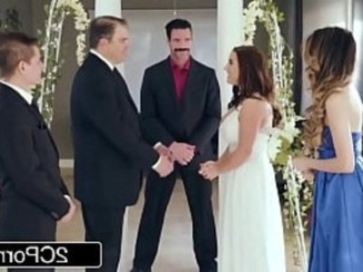 Stunning Cheating Bride Angela White Loves Anal | anal  ass fucking  ass worship  blowjob  brunette  busty  cheating wife  curvy girls  deepthroat  doggy