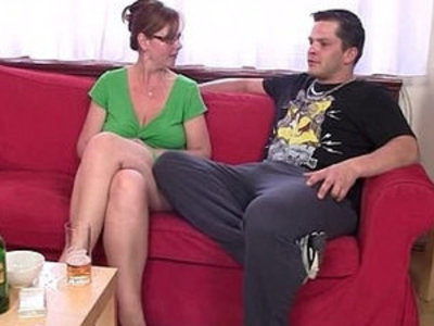 Hot 3some with mature chick after couple of beers | 3some  chicks  couple  mature