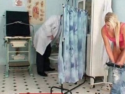 Hot czech blonde Vanessa Hell abused by old daddy doctor | blonde   czech girls   daddy   doctor   old and young   young